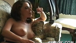 she likes playing with her tits movie clip 1
