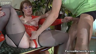 StunningMatures Video: Flo and Benjamin