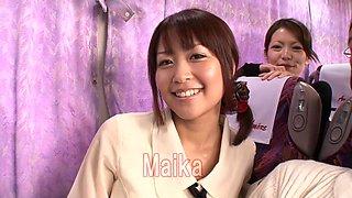 Saki Hatsuki, Maika, Arisu Suzuki, Yu Anzu in Fan Thanksgiving BakoBako Bus Tour 2012 part 1.1