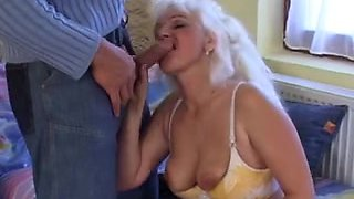 Indecent grannies fuck hard in retro video