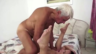 Teen Fucked By Old Man