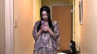 Horny and lonely Asian housewife unleashes her wild desires