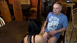 Old milf and girl Can you trust your gf leaving her alone