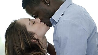 Interracial Vacation for Cheating Girlfriend