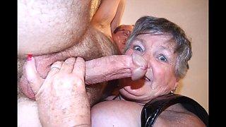 Disrespecting granny vi with granny whore libby!