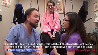 Kitty Catherine's Gyno Exam By Doctor From Tampa Caught On Spy Cam
