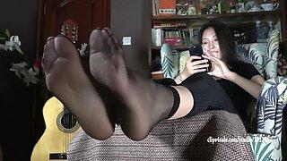 Chinese nylon footie soles