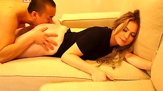 Britney Light House Party Fuck Asian Guy James Bang