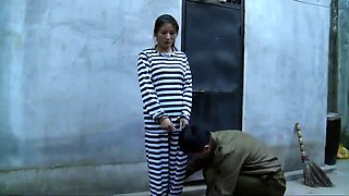 Japanese bondage hot sex with 18 year old bdsm pussy