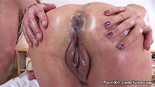 Best pornstar in Hottest Facial, BBW sex video