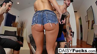 Daisy Monroe  Dollie Darko in Daisy  Dollie Get Pounded In A Hardcore Foursome - DaisyMonroe