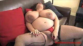 Really Big Milk filled Boobs at 9 months pregnant