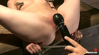 The little Disney girl is fucked well by isis LoveSensi cums & squirts multiple times!!