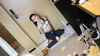 Very beautiful Chinese college student model playing bondage #1