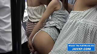 Slutty Japanese Babes on The Bus