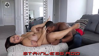 Muscle Fit Body Pregnant Wife Goes to BBC Bull in Hotel Room