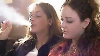me and my mom smoking
