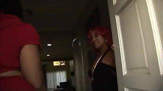 Crazy pornstar in amazing threesomes, black and ebony porn clip