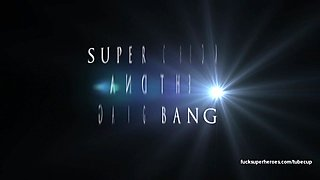 Super Chick gets gang banged in a back alley