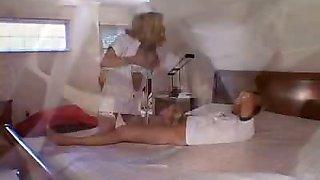 Big Tit Blonde Nurse Fucking