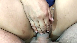 Teacher with her student - pussy fucking at home