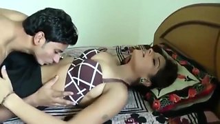 Indian Wife seducing her boyfriend with her beautiful body