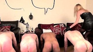 Hot pornstar femdom strapon and cumshot