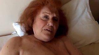 Mega tittied 83 year old granny