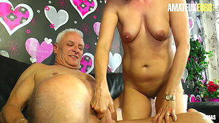 XXX OMAS - Sexy German Wife Knows How To Fuck With Her Man