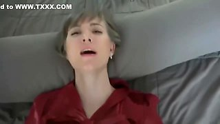 Blonde Nympho Teen Gives Sloppy Blowjob