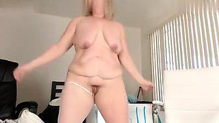 French mature bbw squirting solo