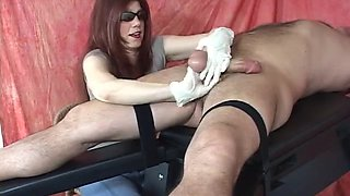 Harsh shlong milking cook jerking from Goddess