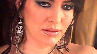 Mistress spitting & makes slave eat ash cigarette smoking