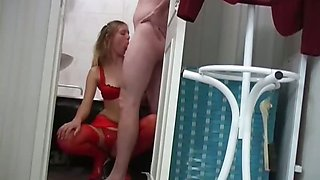 Sexy Lingerie High Heels Stockings Sex
