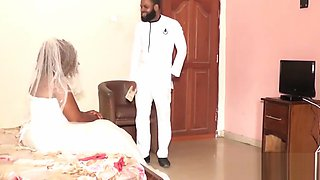 Bride Fucked by Ex Boyfriend on Her Wedding Day - NOLLYPORN