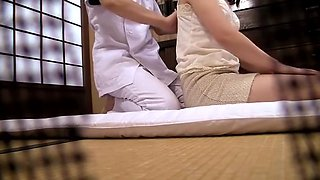 Erotic Massage Next To The Husband You Are Sleeping Voyeur Hotel Masseur
