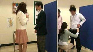Exotic Japanese whore Hitomi Honjou, Yuna Shiina in Hottest Creampie/Nakadashi, Swallow/Gokkun JAV scene