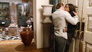 Celebrity Vixen Sharon Leal Sex Scene Compilation from Addicted (2014)
