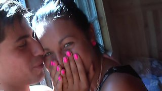 Get ready for a super hot homevideo with a young couple in love