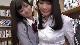 Cute Asian Schoolgirl Makes Teacher Lick Her Pussy All Over the School
