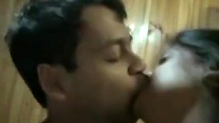 Bueatiful Indian sex with long lip kiss