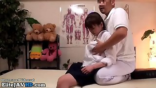 japanese schoolgirl massage goes wrong part 1