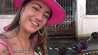 A Real Gondola Ride Brings A Smile To Lily's Face - ATKGirlfriends