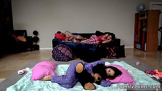 compeers daughter tied up Slumber Party With Stepdad