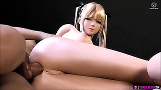 Huge tits and perfect ass 3D sluts get fucked deeply