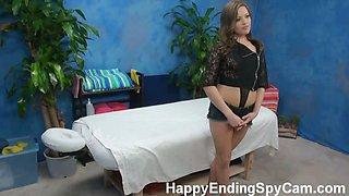 Our hidden spy cameras caught Ashlynn the massage therapist