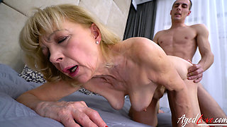 Hungarian Granny Szuzanne fucked hard