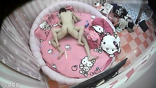 Petite Asian babe gets her hairy peach fingered and fucked