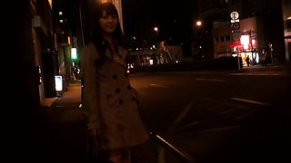 Awesome public handjob on a bus from a japanese teen