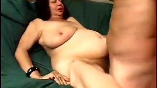 Large Milk Cans Grannie -78 yo and still fuckin